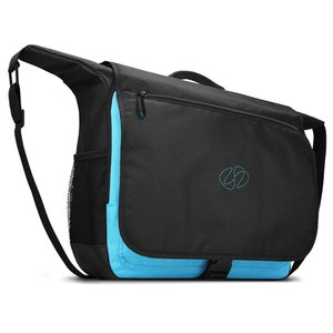 "MacCase 15"" MacBook Pro Messenger Bag with Sleeve and Pouch"