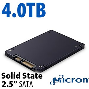 "4.0TB Micron 2.5"" SSD SATA<BR>Up to 540MB/s Sustained"