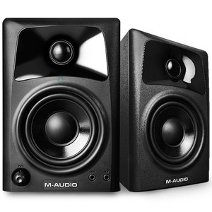 M-Audio AV32 Compact Desktop Speakers for Professional Media Creation
