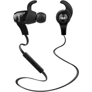 Monster iSport Bluetooth Wireless In-Ear Headphones - Black