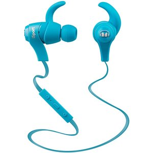 Monster iSport Bluetooth Wireless In-Ear Headphones - Blue