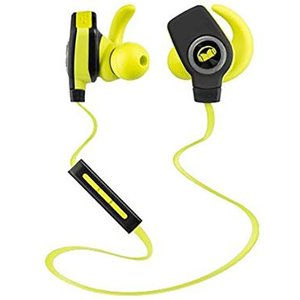 Monster iSport Superslim Bluetooth Wireless In-Ear Headphones - Green