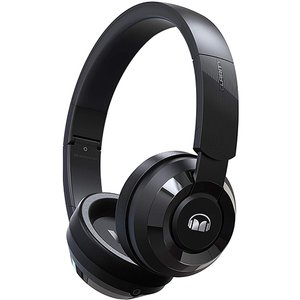 (*) Monster Clarity HD 100 Over the Ear Stereo Audio Wired Headphones - Black