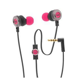 Monster Clarity HD High In-Ear Wired Headphones-Pink/Black