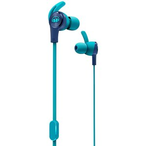 Monster iSport Achieve Wired In-Ear Headphones - Blue