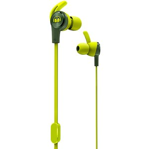 Monster iSport Achieve Wired In-Ear Headphone-Green