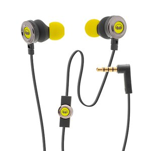 Monster Clarity HD High Definition In-Ear Wired Headphones- Yellow
