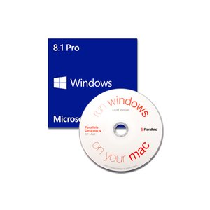 Parallels / Microsoft: Desktop 11 For Mac OEM & Windows 8.1 Professional 64-bit OEM.