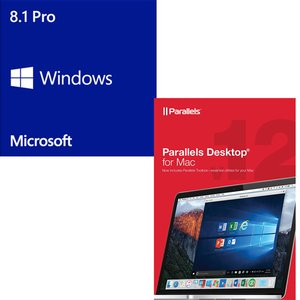 Parallels / Microsoft: Desktop 12 For Mac OEM & Windows 8.1 Professional 64-bit OEM.