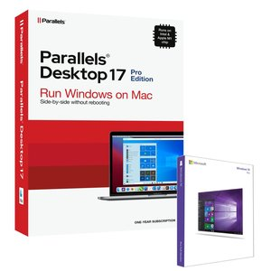 Microsoft Windows 10 Pro 64-Bit + Parallels Desktop Pro 16 for Mac Bundle. The Mac you love, the Windows you need.