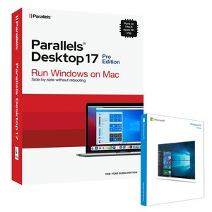 Microsoft Windows 10 Home 64-Bit + Parallels Desktop Pro 16 for Mac Bundle. The Mac you love, the Windows you need.