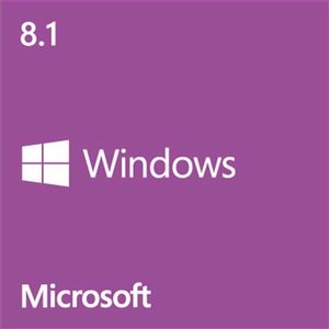 Microsoft Windows 8.1 64-bit (Full Version) - OEM