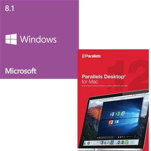 Parallels / Microsoft: Desktop 12 For Mac OEM & Windows 8.1 64-bit OEM.