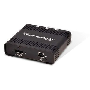 Matrox TripleHead2Go DP Edition video converter for DisplayPort, mini DisplayPort, or Thunderbolt