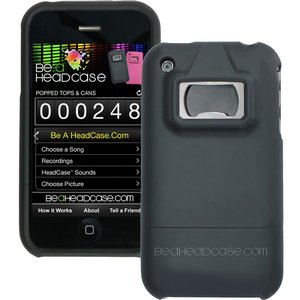 My Innoventure Be a Head Case Bottle and Can Opener Case for Apple iPhone 3G/3GS - Black.