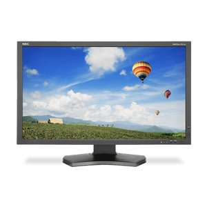 "NEC MultiSync 27"" Widescreen LCD Monitor. DisplayPort, HDMI, and DVI-D inputs."