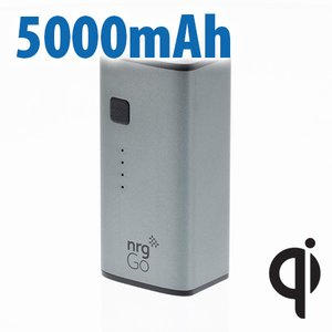 nrgGo 5000mAh Slim Power Bank