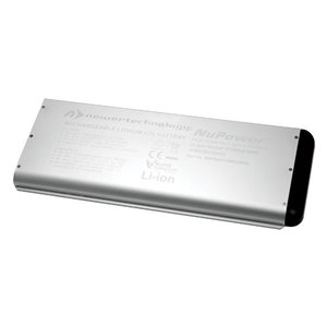 NewerTech NuPower 54 Watt-Hour Replacement Battery for all Apple MacBook 13.3-inch Unibody Late 2008