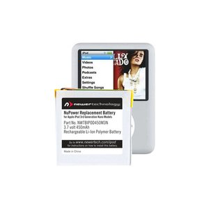 NewerTech NuPower 450mAh replacement battery for Apple iPod nano 3G
