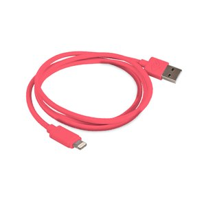 "1.0 Meter (39"") NewerTech Lightning to USB 2.0 Cable. Pink. Premium Quality & Durability."