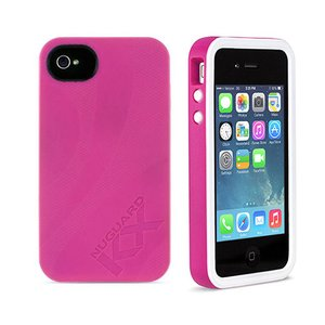 (*) NewerTech NuGuard KX. Color: Rose. X-treme Protection for Your iPhone 4/4S