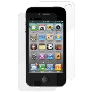 NewerTech NuVue Clear Screen Protector for iPhone 4/4S (2 Pack)