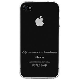 NewerTech NuGuard Clear Hard Shell Case for original iPhone 4/4S - Transparent Clear Color.