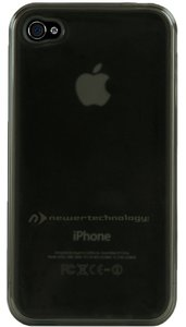 NewerTech NuGuard Gel Case for all iPhone 4/4S versions - Black Color