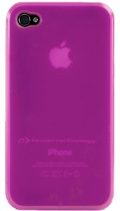 NewerTech NuGuard Gel Case for all iPhone 4/4S versions - Purple Color