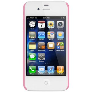 NewerTech NuGuard Carbon Snap Case for all iPhone 4/4S versions - Pink Color.