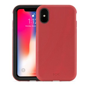 NewerTech NuGuard KX Case for iPhone Xs and iPhone X - Crimson (Red)