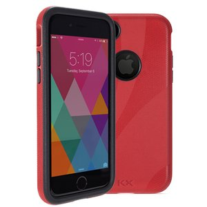 NewerTech NuGuard KX. Color: Crimson (Red). X-treme Protection for Your iPhone 8 and iPhone 7