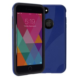NewerTech NuGuard KX. Color: Midnight (Dark Blue). X-treme Protection for Your iPhone 8 Plus and 7 P