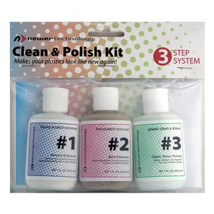 NewerTech Clean & Polish Kit - Cleans and Eliminates Scratches from iPods, iBooks, MacBooks..