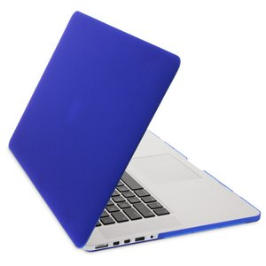 NewerTech NuGuard Snap-On Laptop Cover. Dark Blue. Compatible with all 13-inch MacBook Air models.