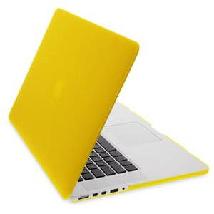 NewerTech NuGuard Snap-On Laptop Cover. Yellow. Compatible with all 13-inch MacBook Air models.