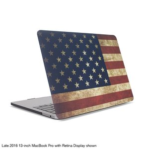 "NewerTech NuGuard Snap-on Laptop Cover for 12"" MacBook (2015 - Current) - American Flag"
