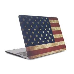"(*) NewerTech NuGuard Snap-on Laptop Cover for 13"" MacBook Pro (2016 - Current) - American Flag"