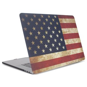 "(*) NewerTech NuGuard Snap-on Laptop Cover for 15"" MacBook Pro (2016 - Current) - American Flag"