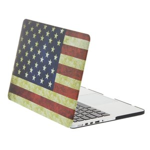 NewerTech NuGuard Snap-On Laptop Cover. American Flag. For 13-inch MacBook Pro with Retina display.