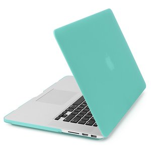NewerTech NuGuard Snap-On Laptop Cover. Green. For 15-inch MacBook Pro with Retina display.