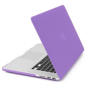 NewerTech NuGuard Snap-On Laptop Cover. Purple. For 15-inch MacBook Pro with Retina display.