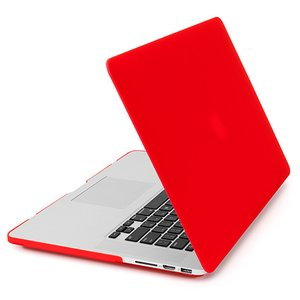 NewerTech NuGuard Snap-On Laptop Cover. Red. For 15-inch MacBook Pro with Retina display.