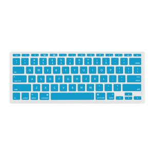 "(*) NewerTech NuGuard Keyboard Cover for all 2011-2016 MacBook Air 11"" models - Light Blue."