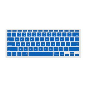 "(*) NewerTech NuGuard Keyboard Cover for all 2011-2016 MacBook Air 11"" models - Blue Color."