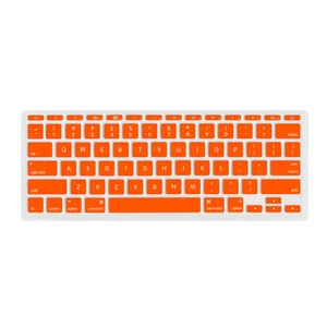 "NewerTech NuGuard Keyboard Cover for all 2011-2016 MacBook Air 11"" models - Orange Color."