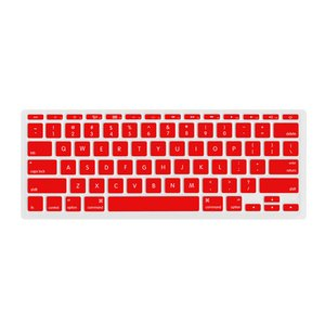"(*) NewerTech NuGuard Keyboard Cover for all 2011-2016 MacBook Air 11"" models - Red Color."
