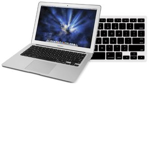 "NewerTech NuGuard Keyboard Cover - Black Color. For use with 13"" MacBook Air 2010."