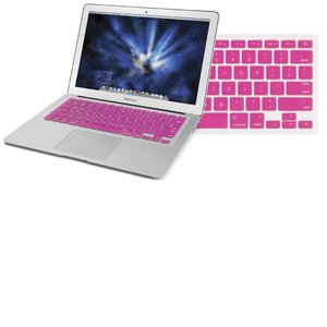 "NewerTech NuGuard Keyboard Cover - Pink Color. For use with 13"" MacBook Air 2010."