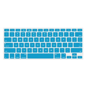 "NewerTech NuGuard Keyboard Cover for 2011-15 MacBook Air 13"", All MB Pro Retina - Light Blue."